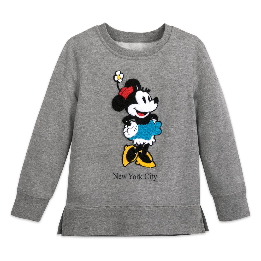 Minnie Mouse Pullover Sweatshirt for Girls – New York City