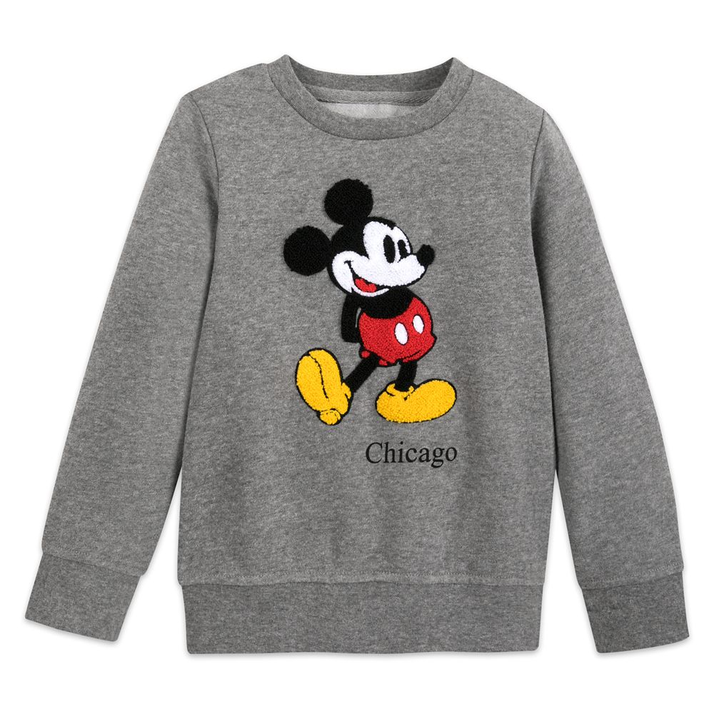 Mickey Mouse Pullover Sweatshirt for Boys – Chicago