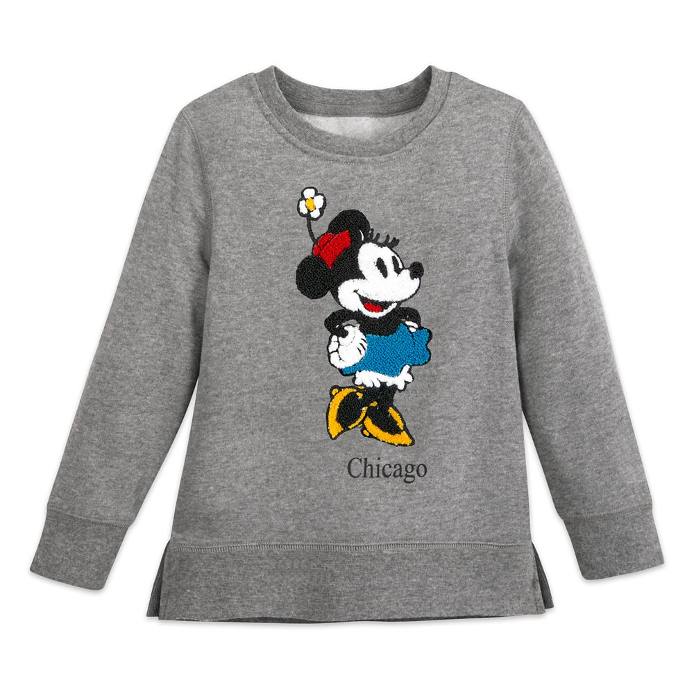 Minnie Mouse Pullover Sweatshirt for Girls – Chicago