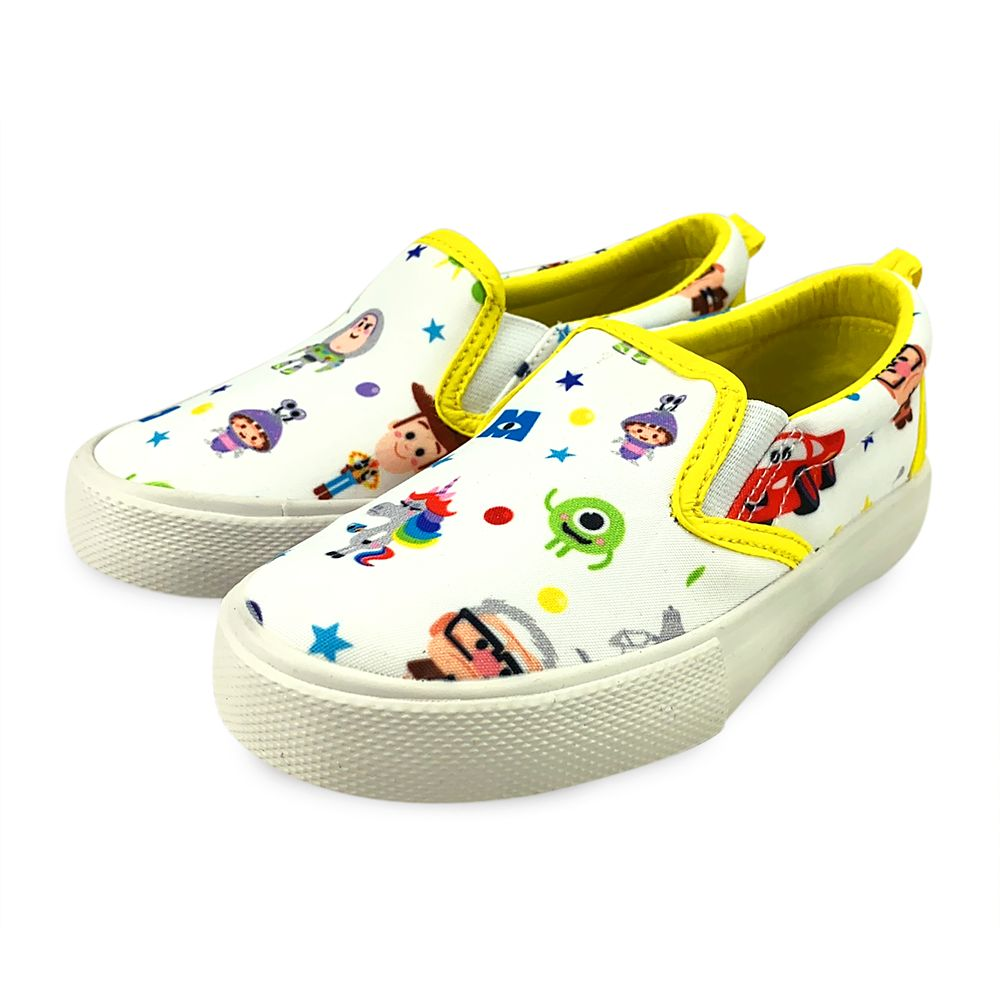 World of Pixar Slip-On Shoes for Toddlers