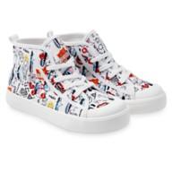 디즈니 '크루엘라' 키즈 스니커즈 Disney Cruella High-Top Sneakers for Kids – Live Action