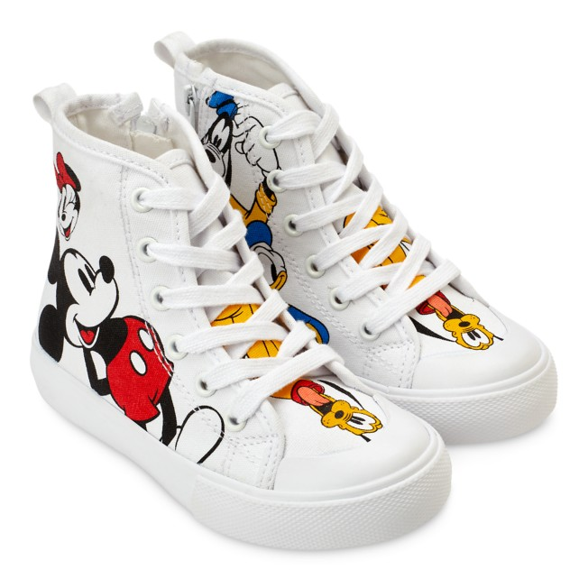 Mickey Mouse and Friends High-Top Sneakers for Kids