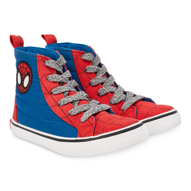 Marvel's Spidey and His Amazing Friends High-Top Sneakers for Kids
