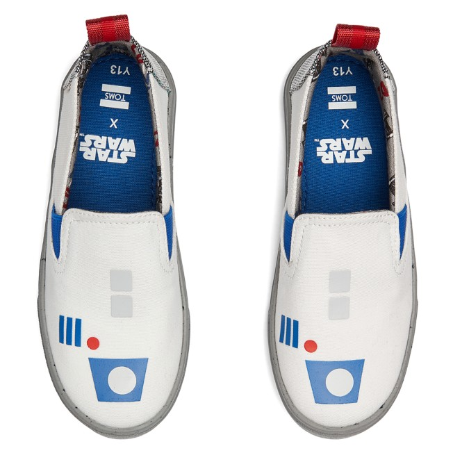 R2-D2 Shoes for Kids by TOMS – Star Wars
