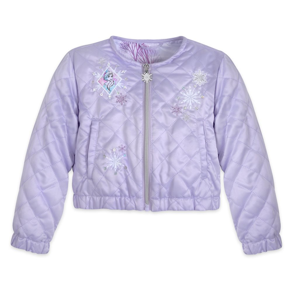 Frozen 2 Quilted Jacket for Girls