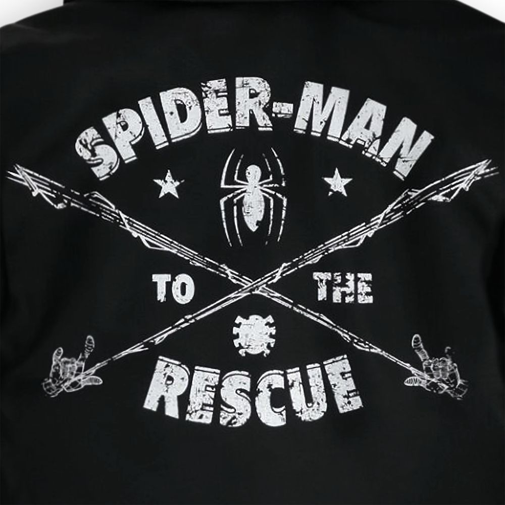 Spider-Man Rescue Hooded Jacket for Boys
