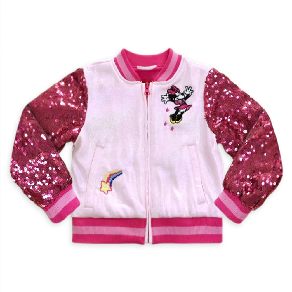 Minnie Mouse Varsity Jacket for Girls – Personalized