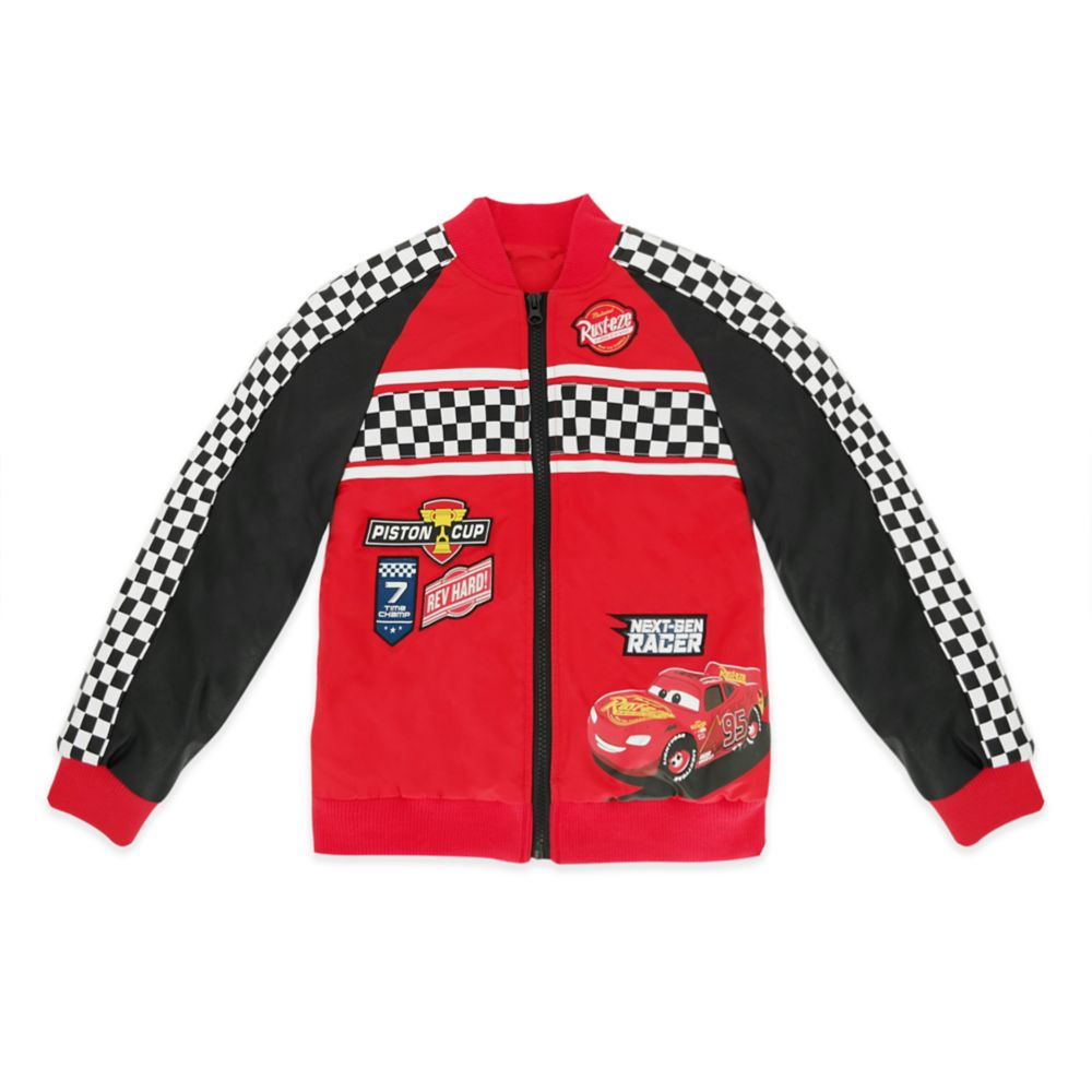 Lightning McQueen Varsity Jacket for Kids