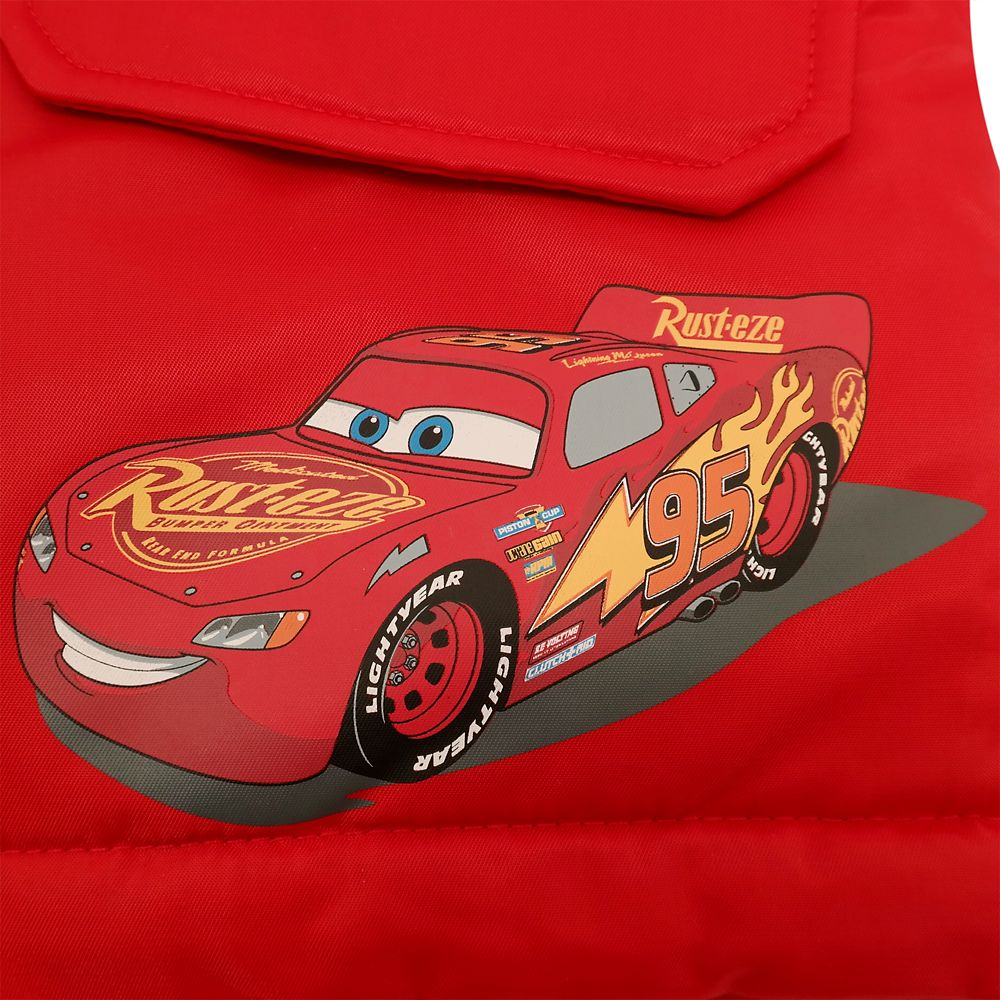Lightning McQueen Hooded Jacket for Boys