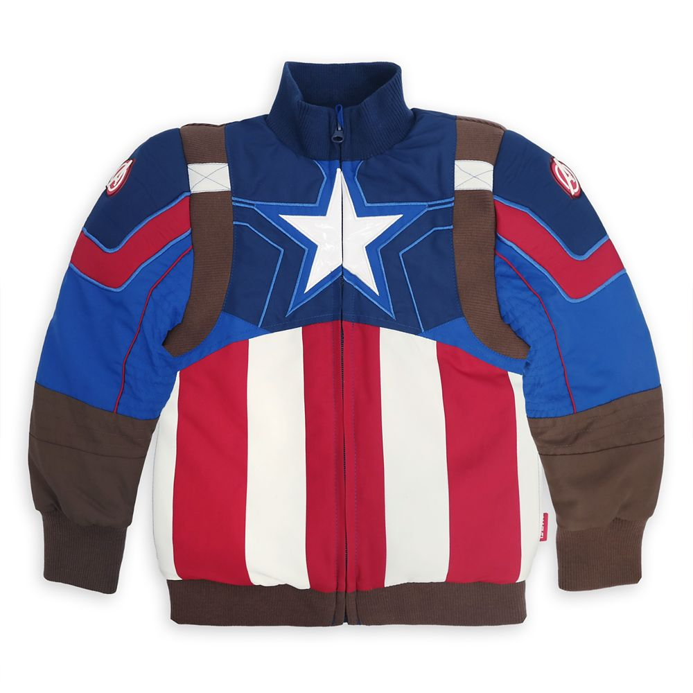 Captain America Jacket for Kids