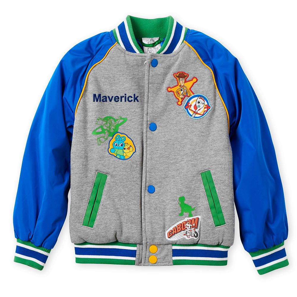 Toy Story 4 Varsity Jacket for Kids – Personalized