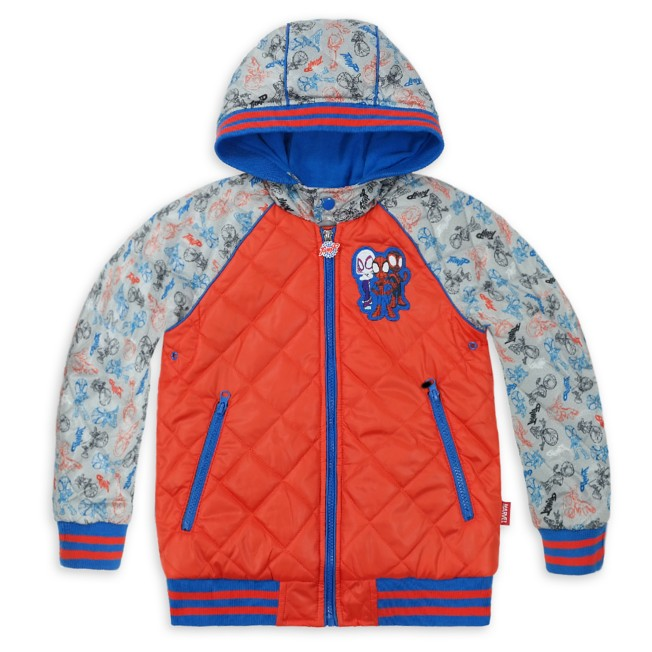 Spidey and His Amazing Friends Hooded Jacket for Kids