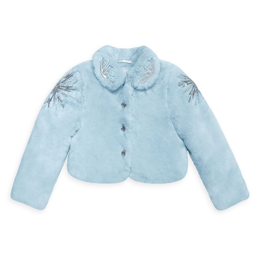 Frozen 2 Faux Fur Jacket for Girls
