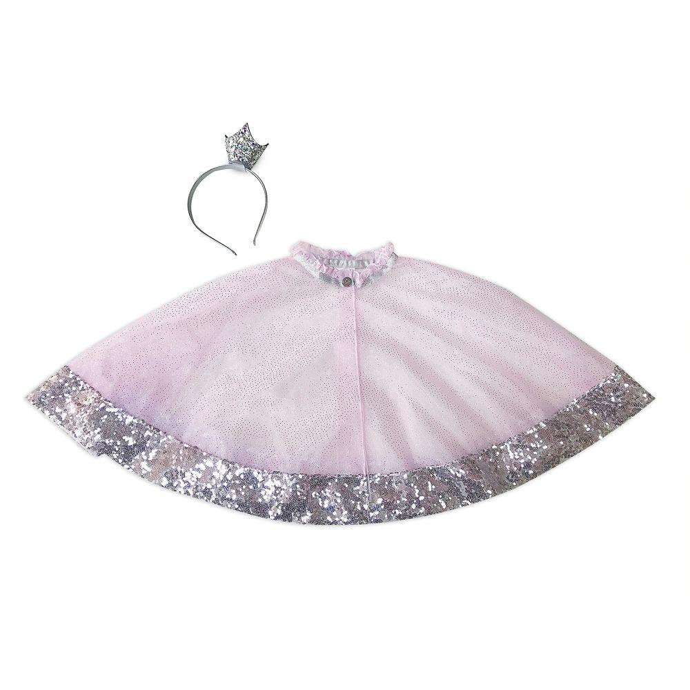 Disney Princess Cape and Headband Set for Girls