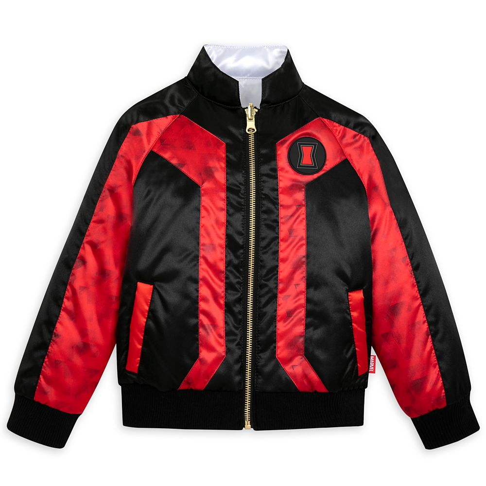 Disney Black Widow Reversible Jacket for Girls