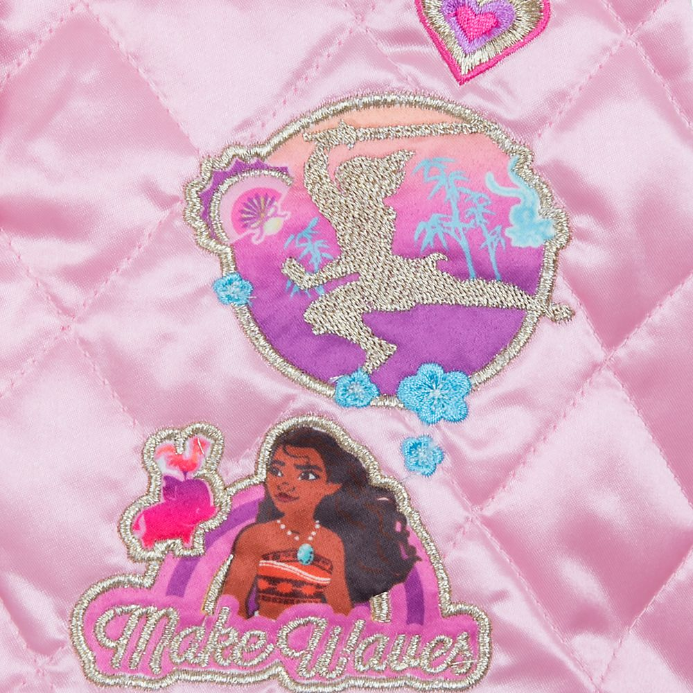 Disney Princess Quilted Varsity Jacket