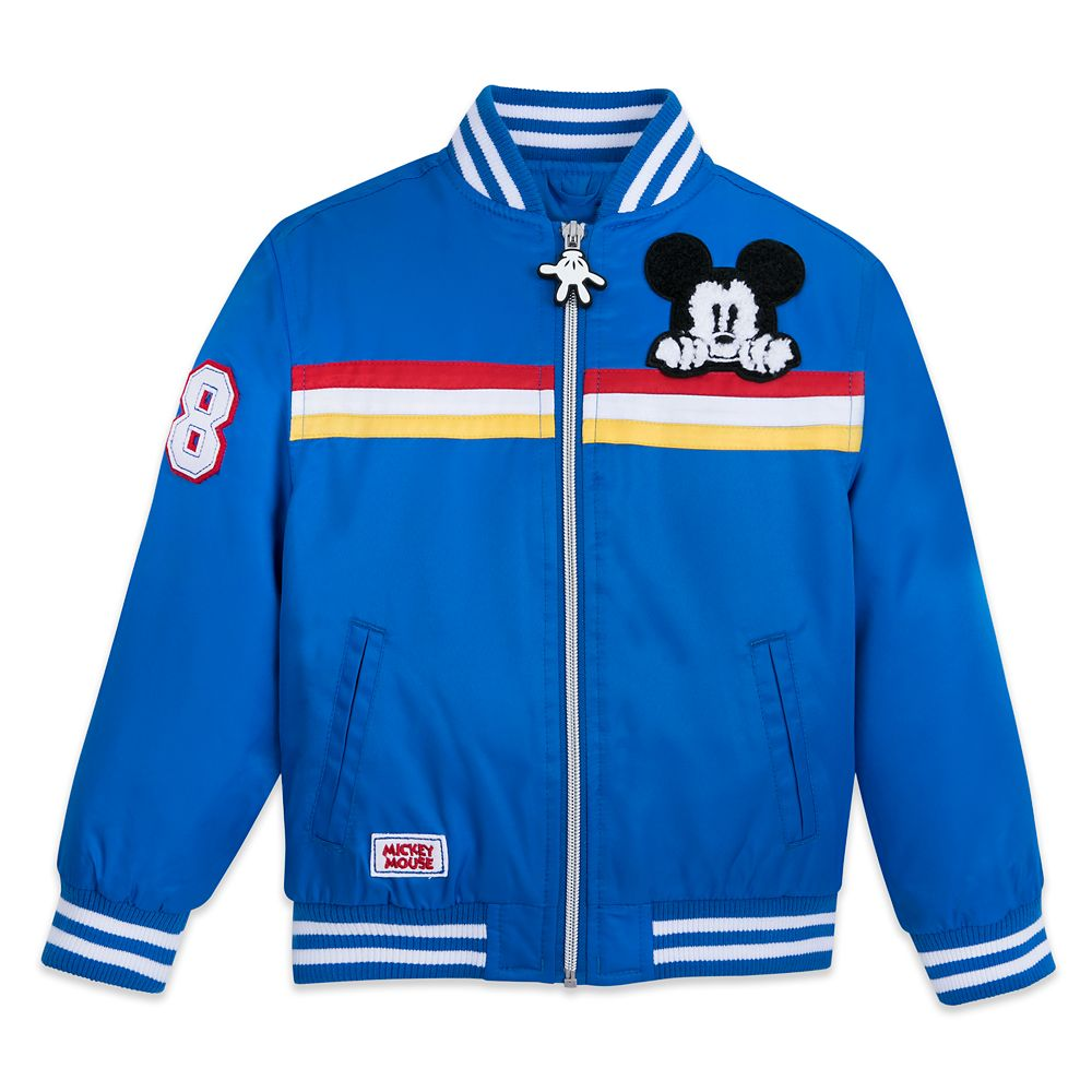 Mickey Mouse Varsity Jacket for Kids – Personalized