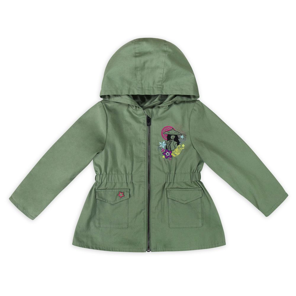 Disney Raya and the Last Dragon Hooded Jacket for Girls