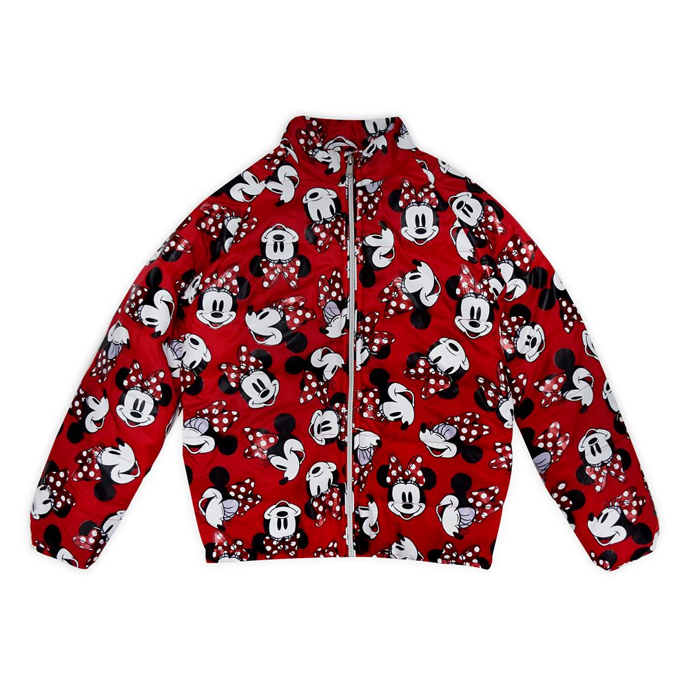 Minnie Mouse Lightweight Puffy Jacket for Girls