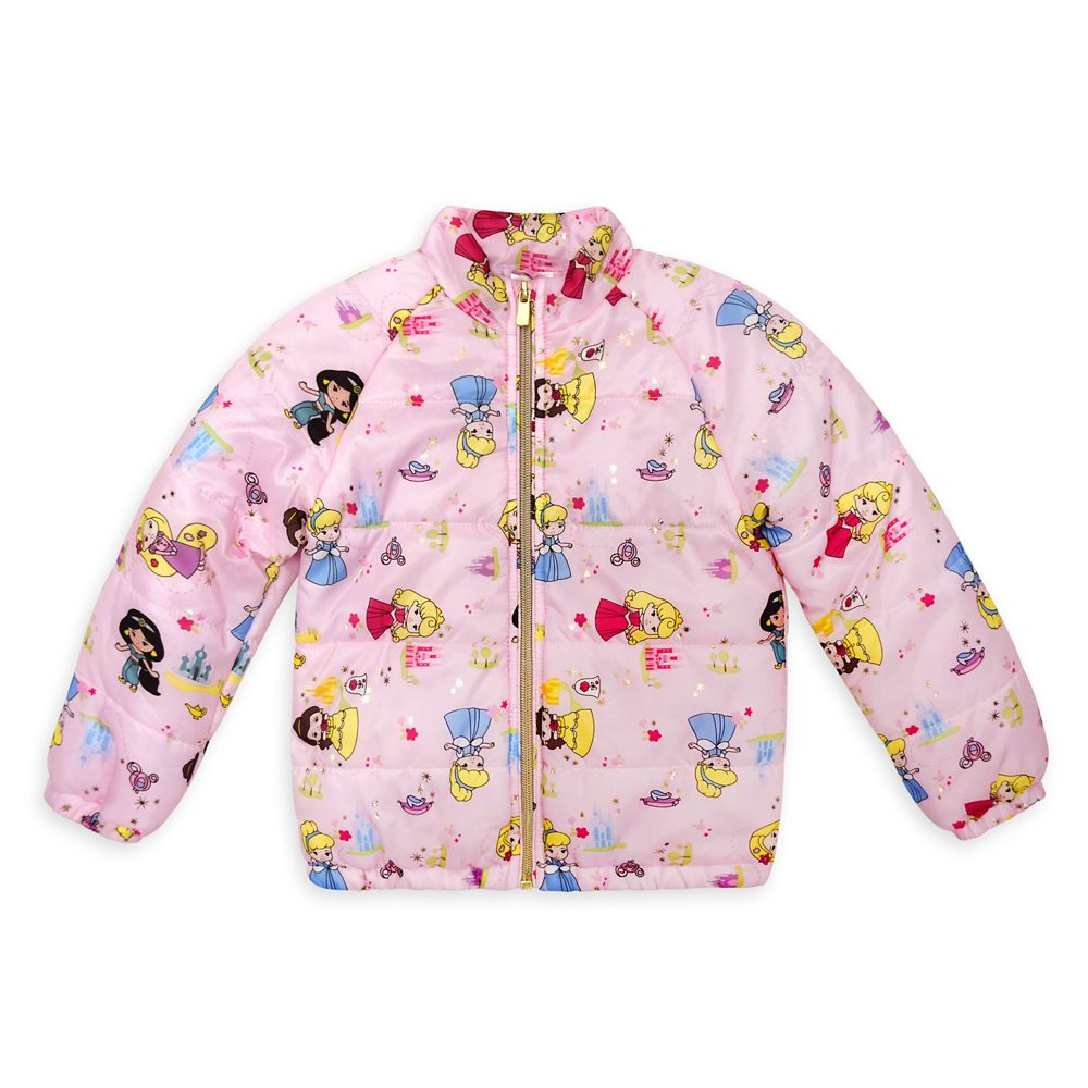 Disney Princess Lightweight Puffy Jacket for Girls