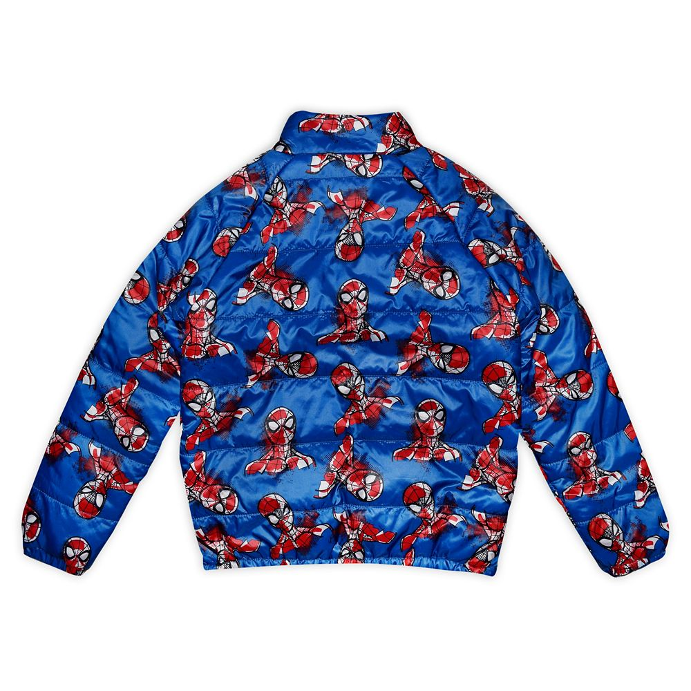 Spider-Man Lightweight Puffy Jacket for Boys