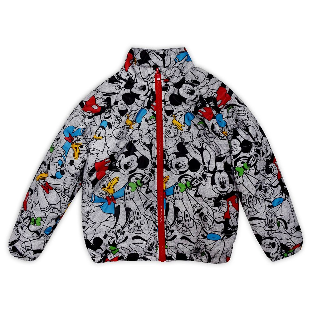 Mickey Mouse and Friends Lightweight Puffy Jacket for Kids