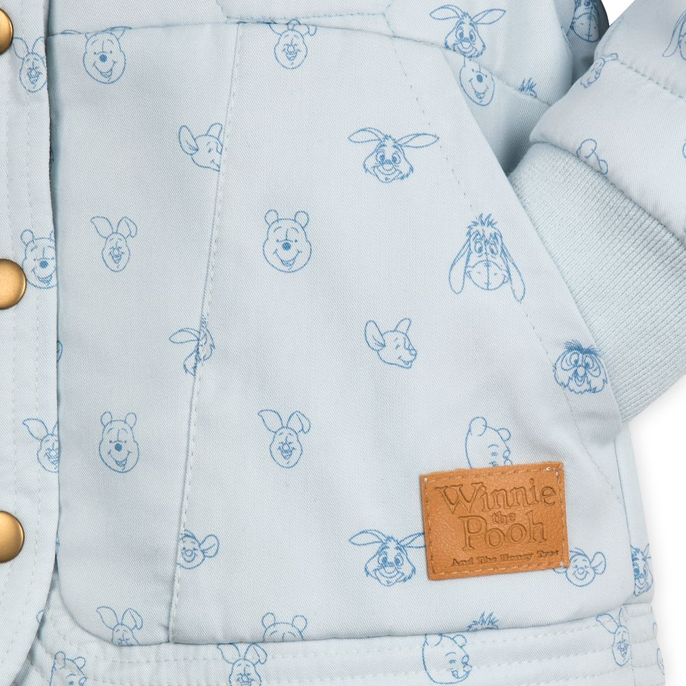 Winnie the Pooh Quilted Jacket for Toddler