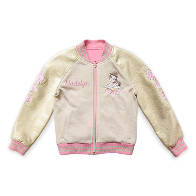 Belle Varsity Jacket for Kids – Beauty and the Beast – Personalized