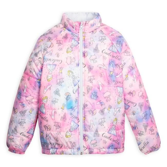 Cinderella Puffy Jacket for Kids