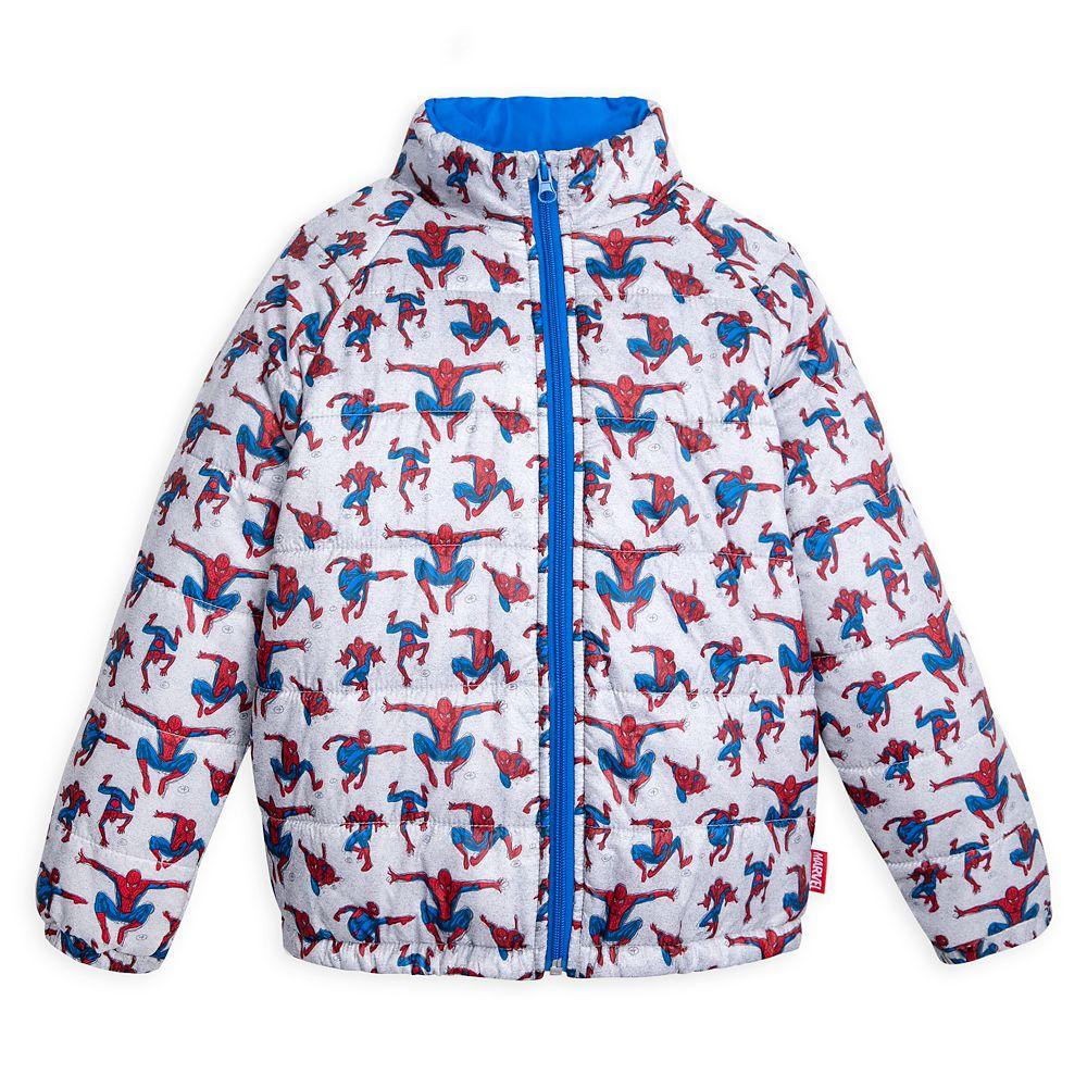 Spider-Man Puffy Jacket for Kids