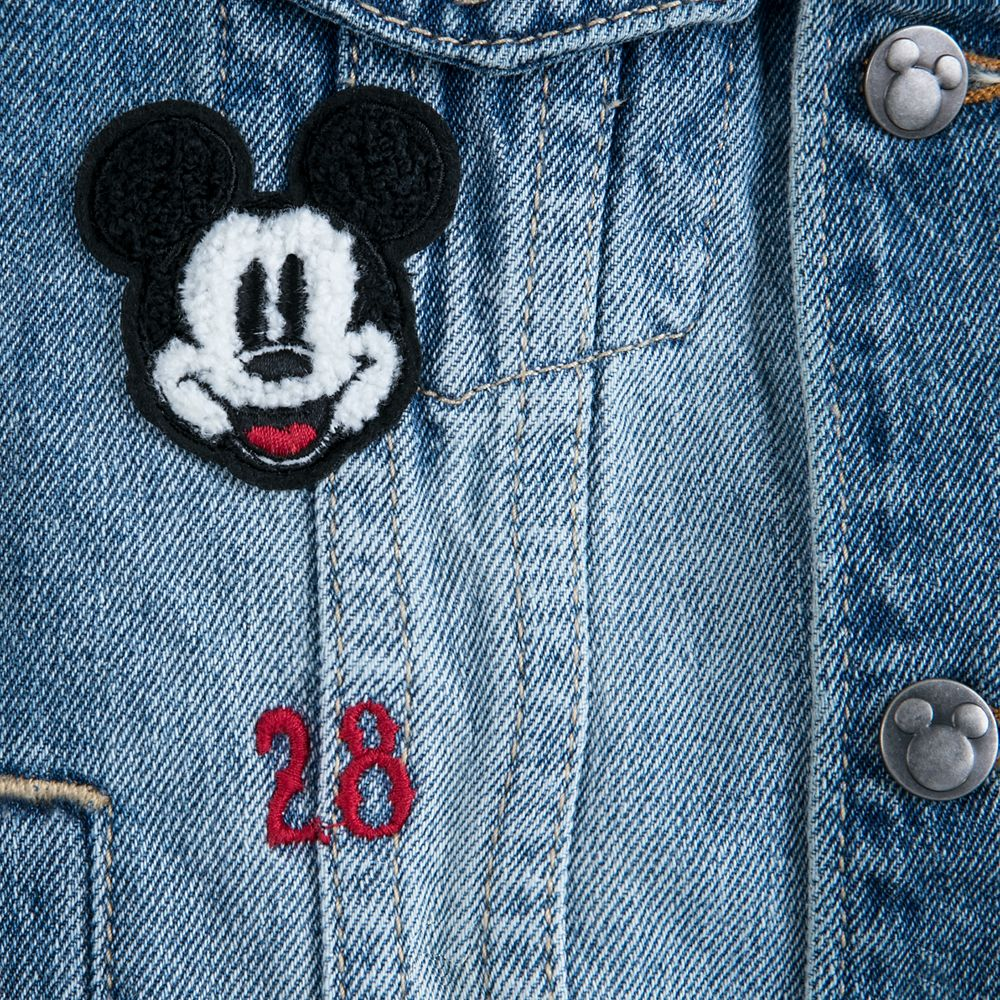 Mickey Mouse Denim Jacket for Boys