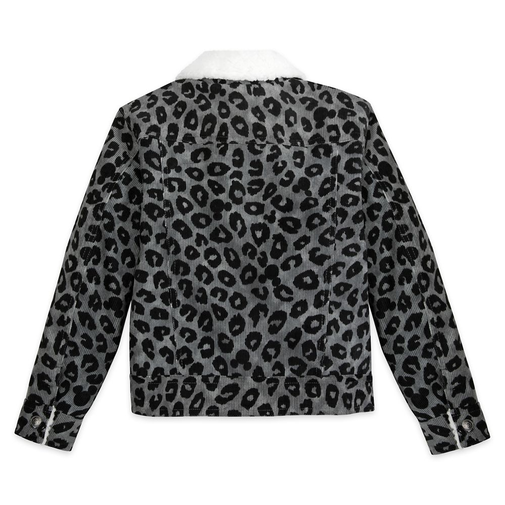 Mickey Mouse Grayscale Jacket for Girls