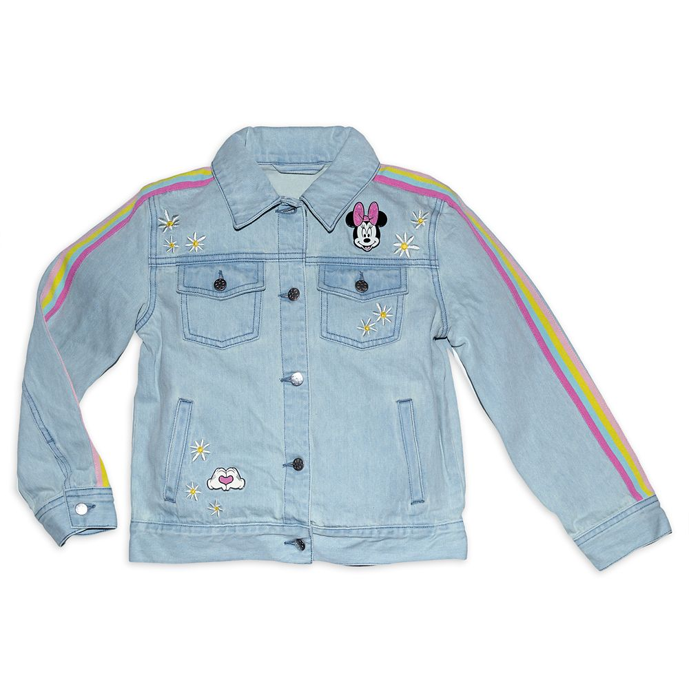 Disney Minnie Mouse Denim Jacket for Girls