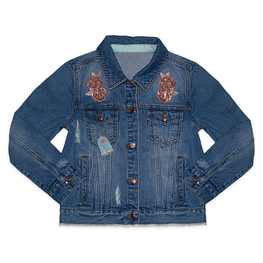 Belle Denim Jacket for Kids – Beauty and the Beast