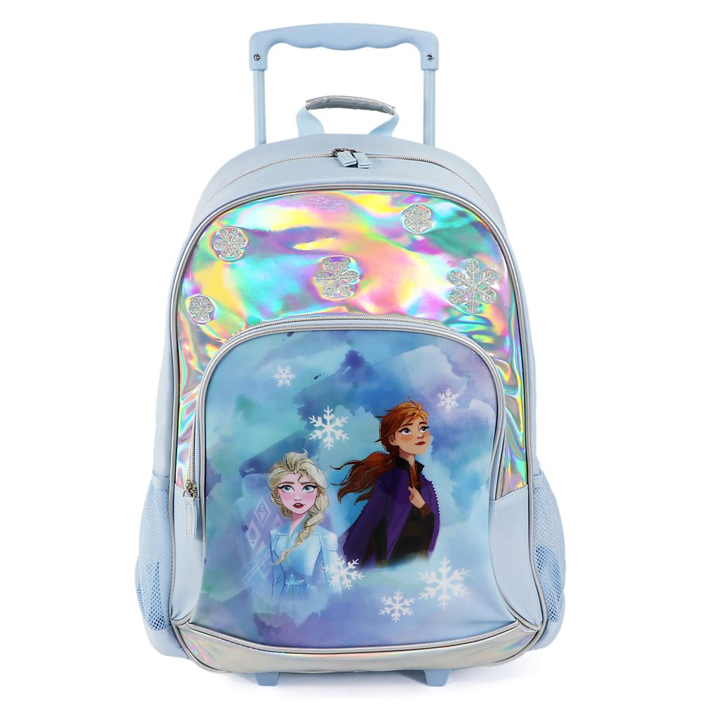 Anna and Elsa Rolling Backpack – Frozen
