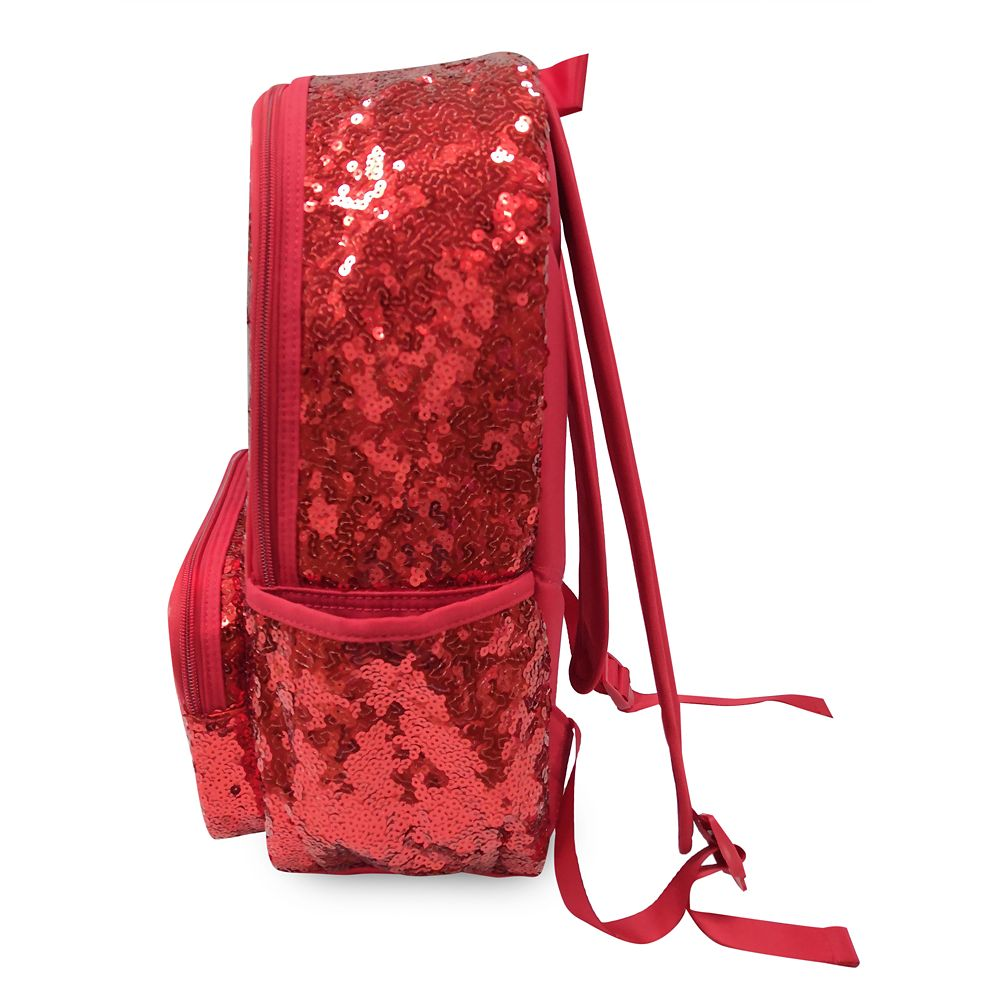 Minnie Mouse Red Sequin Backpack