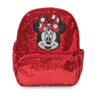 Minnie Mouse Red Sequin Backpack – Personalized