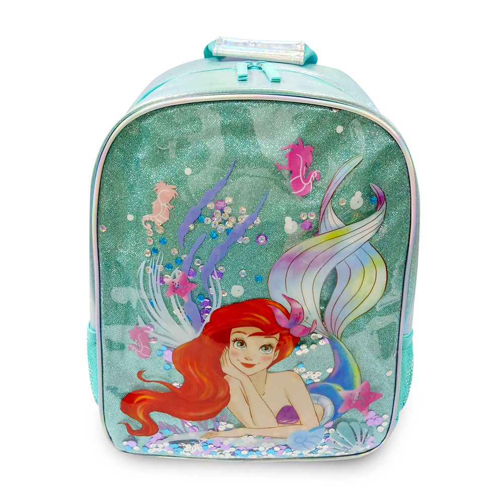 shopdisney.com - Ariel Backpack  The Little Mermaid  Personalized Official shopDisney 29.99 USD