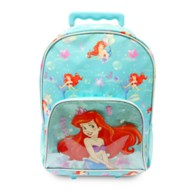 Ariel Rolling Backpack – The Little Mermaid – Personalized