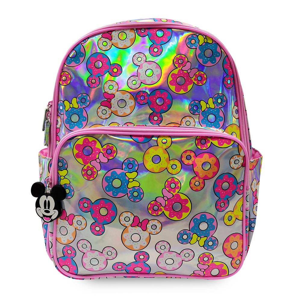 Mickey and Minnie Mouse Donut Backpack