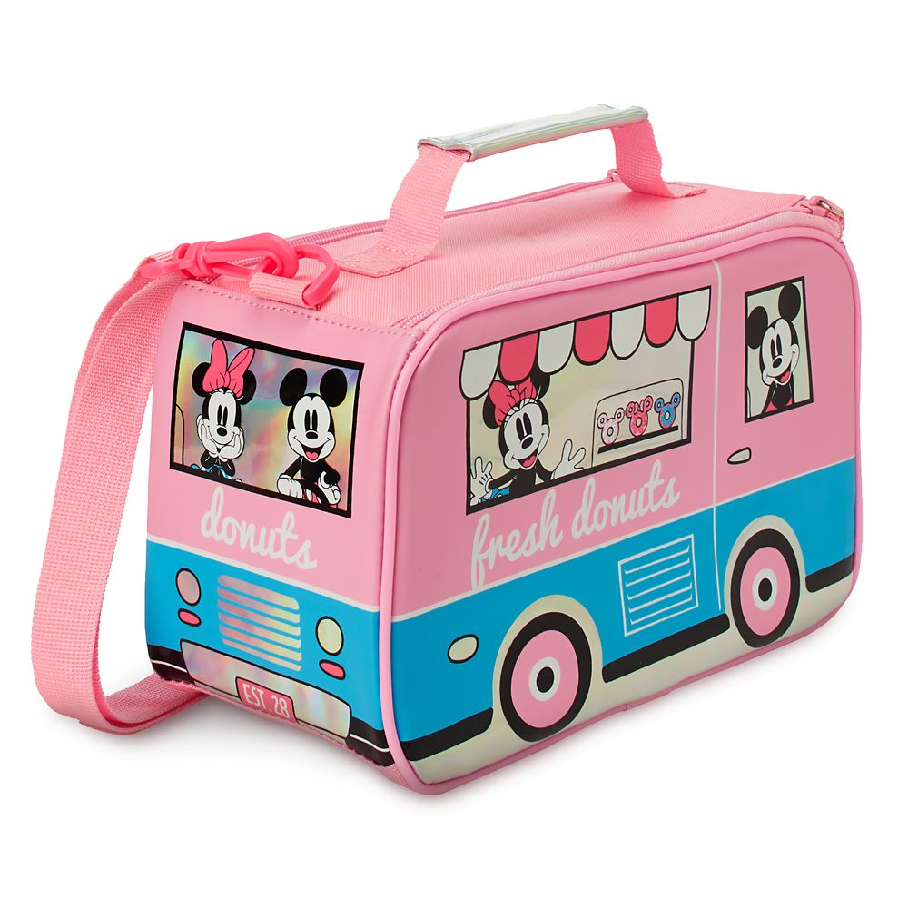 Mickey and Minnie Mouse Lunch Box