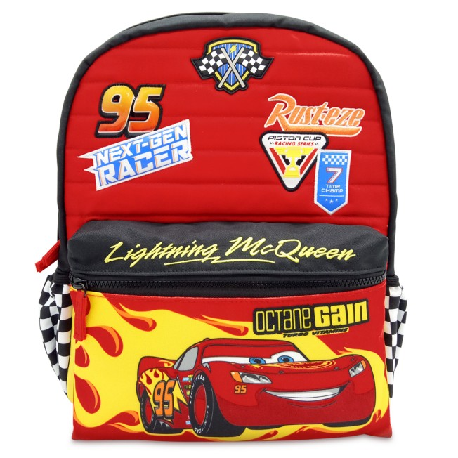 Lightning McQueen Backpack – Cars – Personalized
