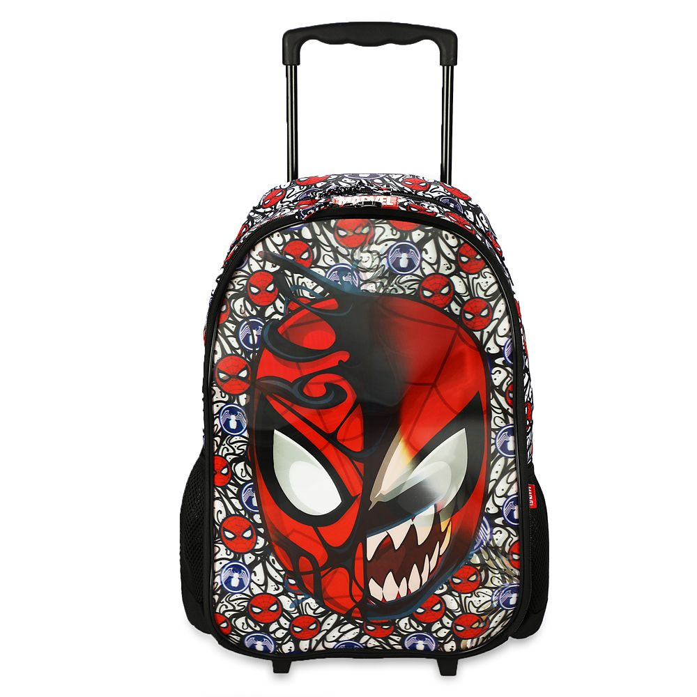Spider-Man and Venom Lenticular Rolling Backpack