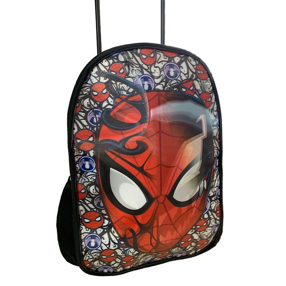 Spider-Man and Venom Lenticular Rolling Backpack