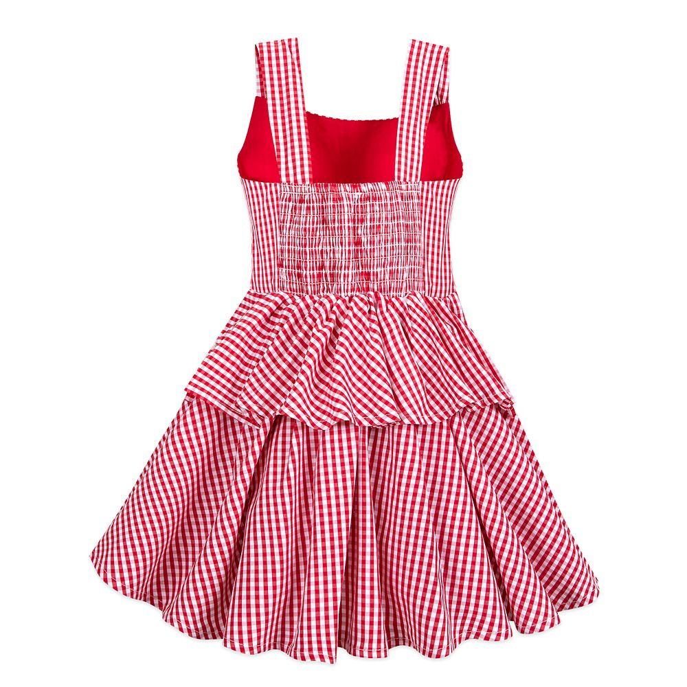 Minnie Mouse Gingham Dress for Girls