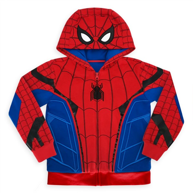 Spider-Man Costume Hoodie for Kids