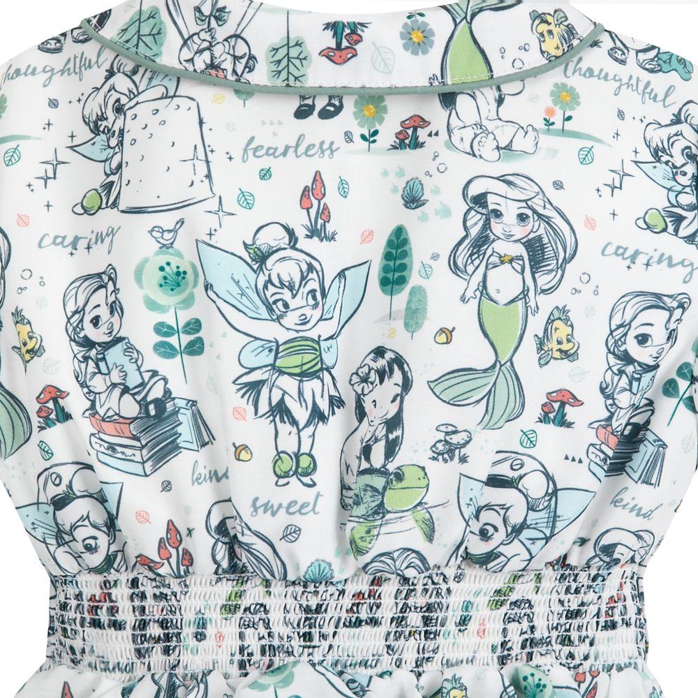 Disney Animators' Collection Dress and Cardigan Set for Girls