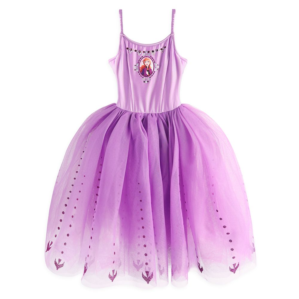 Anna Leotard with Tutu and Cape for Girls – Frozen 2