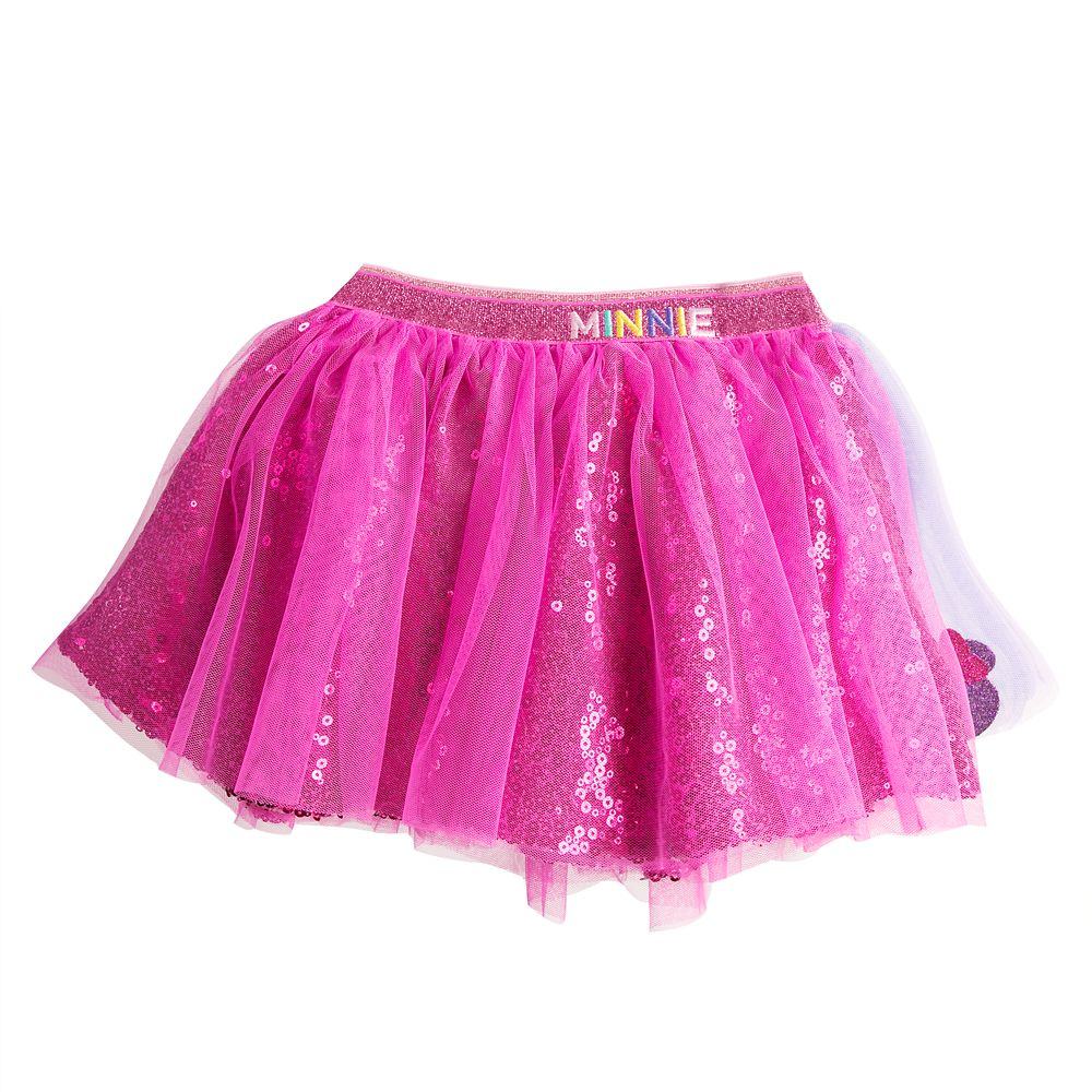 Minnie Mouse Leotard and Tutu Skirts Set for Girls