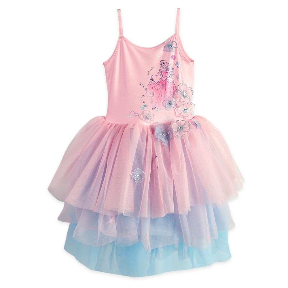 Aurora Leotard Tutu Dress for Girls – Sleeping Beauty